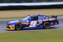 van Dale Earnhardt drijft de #88 Energie Chevrolet van de Ampère tijdens Samsung 500, dat bij de Speedwaybaan van de Motor van Te royalty-vrije stock afbeeldingen