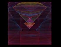 Van de achtergrond diamant patroon vector illustratie