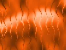 3 van de de achtergrond golflijn van D Oranje Abstract in de schaduw gesteld het onduidelijke beeld malplaatjebehang Royalty-vrije Illustratie