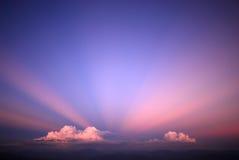 Van de achtergrond hemel landschap Stock Afbeeldingen