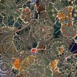 Van de achtergrond kunst grunge patroon Stock Afbeelding