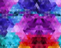 Van de achtergrond luxeorigami kleurrijk elementenpatroon, super kwaliteits abstracte bedrijfsaffiche stock illustratie