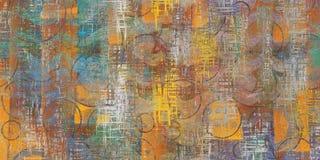 Van de achtergrond muur Kleurrijk Abstract Textuur Luxueus Textuurbeeld vector illustratie