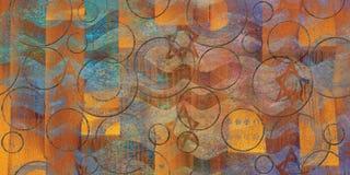 Van de achtergrond muur Kleurrijk Abstract Textuur Luxueus Textuurbeeld stock fotografie