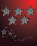 Van de achtergrond ster vector Stock Fotografie