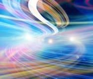 Van de achtergrond technologie illustratie, abstracte snelheid Stock Foto