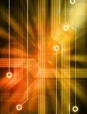Van de achtergrond technologie Kringen vector illustratie