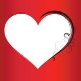 Van de achtergrond valentijnskaart elementen Royalty-vrije Stock Afbeelding