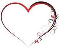 Van de achtergrond valentijnskaart elementen Royalty-vrije Stock Afbeeldingen