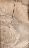 Van de achtergrond valentijnskaart Perkament royalty-vrije stock foto's