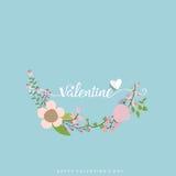 Van de achtergrond valentijnskaartendag Ontwerp Vector illustratie Stock Foto