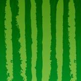 Van de achtergrond watermeloen realistische textuur brieven vectorillustratie royalty-vrije illustratie