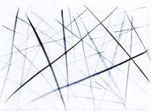 Van de achtergrond waterverfillustratie strepen De tekening van de hand vector illustratie