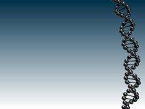 Van de achtergrond wetenschap DNA Stock Afbeeldingen