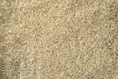 Van de achtergrond witte rijstkorrel textuur Royalty-vrije Stock Afbeelding
