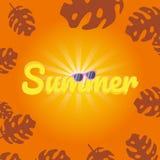 Van de de achtergrond zomerverkoop lay-out voor banners Kleurrijk en goed voor bevordering stock foto