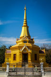 Van de architectuurkerk of tempel de stijl van ontwerpazië Stock Afbeeldingen