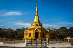 Van de architectuurkerk of tempel de stijl van ontwerpazië Royalty-vrije Stock Foto