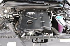Van de de automotor van Audi a4 allroad de fotospruit in Turkije stock foto