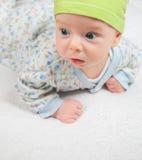 3 van de babymaanden oud jongen Royalty-vrije Stock Foto