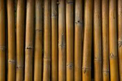 Van de bamboe detial omheining mooie muur als achtergrond Royalty-vrije Stock Fotografie