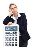 Van de bedrijfs accountant vrouw Royalty-vrije Stock Afbeelding