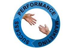 Van de bedrijfs marketing concept Stock Fotografie