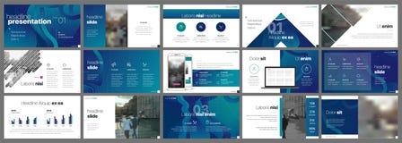 Van de bedrijfs presentatie Template Gradiëntelementen voor diapresentaties op een witte achtergrond royalty-vrije stock afbeelding