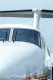 Van de bedrijfs propeller vliegtuigen stock afbeelding