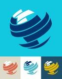 Van de bedrijfs wereld pictogram Royalty-vrije Stock Afbeeldingen
