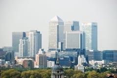 Van de Bedrijfs werf van de kanarie district in Londen Royalty-vrije Stock Afbeelding