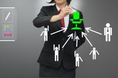 Van de bedrijfsvrouwen (u) het geselecteerde persoon talent Royalty-vrije Stock Foto's