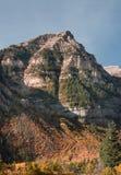 Van de bergpiek en daling kleuren Royalty-vrije Stock Fotografie