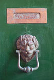 Van de brievenvakje en deur kloppers Royalty-vrije Stock Afbeeldingen