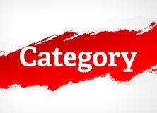 Van de categorie Rode Borstel Abstracte Illustratie Als achtergrond stock illustratie