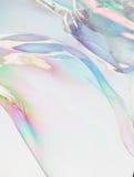 Van de close-upzeepbel modern eenvoudig abstract ontwerp als achtergrond met copyspace Stock Foto