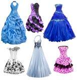 Van de dames het gelijk maken en cocktail geplaatste kleding Royalty-vrije Stock Fotografie