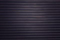 Van de de achtergrond deurtextuur van het metaalgordijn de gradiënt realistische donkere lichte behangtextuur Stock Afbeeldingen