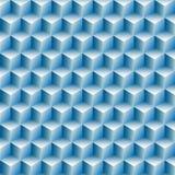 Van de de achtergrond rijenoptische illusie van kubussen samenvatting Royalty-vrije Stock Afbeeldingen