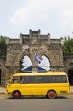 Van de de ambachtenmarkt van de ingang masaya Nicaragua Royalty-vrije Stock Foto