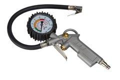 Van de de Banddruk van de autofiets de Maatmanometer voor de Inflator van de Luchtpomp Royalty-vrije Stock Afbeelding
