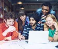 Van de de Blauwdrukcreativiteit van de mensenvergadering het Ontwerparchitect Concept Royalty-vrije Stock Foto's