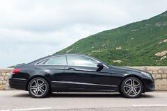 Van de de Coupé 2016 Test van Mercedes-Benz euro 250 de Aandrijvingsdag Royalty-vrije Stock Afbeeldingen