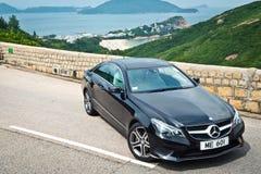 Van de de Coupé 2016 Test van Mercedes-Benz euro 250 de Aandrijvingsdag Royalty-vrije Stock Foto's