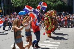 2015 van de de Dagparade van NYC Dominicaans Deel 2 14 Stock Foto's