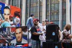 2015 van de de Dagparade van NYC Dominicaans Deel 2 26 Stock Afbeelding