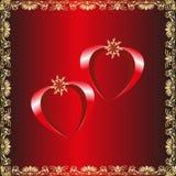 Van de de dagviering van valentijnskaarten 14 Februari Royalty-vrije Stock Foto's