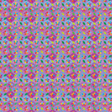 Van de de diamantvorm van het bloemblad het naadloze patroon Stock Foto's