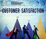 Van de de Dienstkwaliteit van de klantentevredenheid de Steunconcept Stock Fotografie