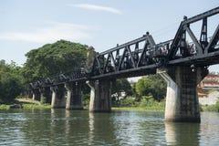 VAN DE DE DOODSspoorweg VAN THAILAND KANCHANABURI DE BRUGrivier KWAI Royalty-vrije Stock Foto